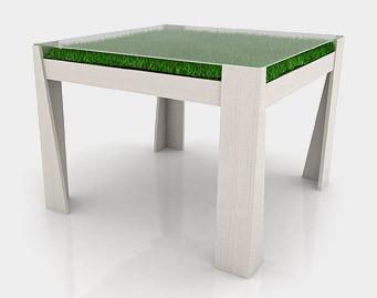 Стол с травкой или Lunch outdoors. Изображение № 2.