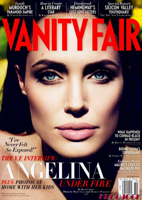 Съёмка: Анджелина Джоли для Vanity Fair. Изображение № 5.