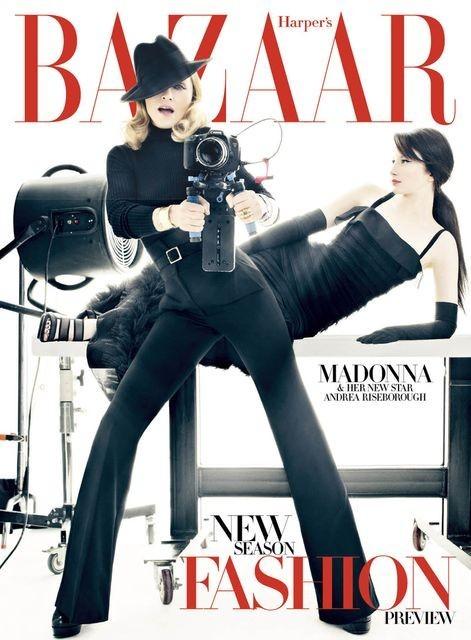 Обложки: i-D и Harper's Bazaar. Изображение № 4.