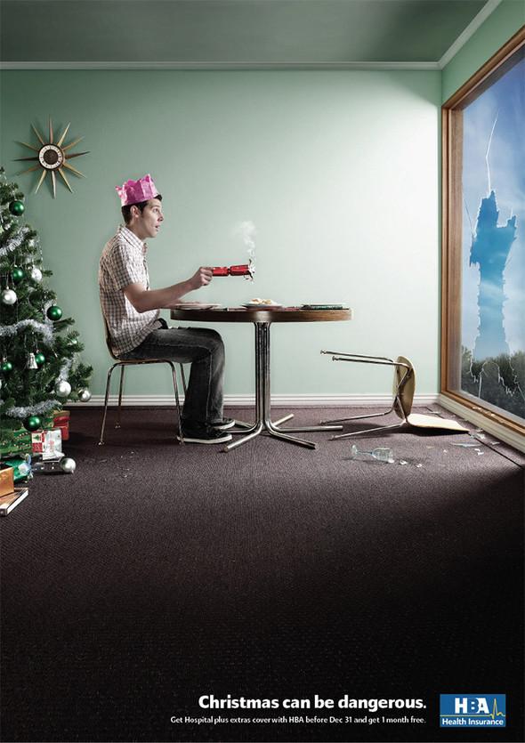 69 рождественских рекламных плакатов. Изображение № 35.