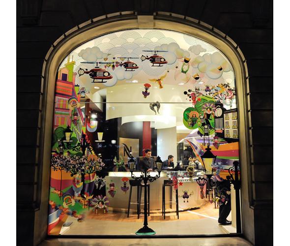 Три витрины магазинов, которые оформили современные художники и дизайнеры. Изображение № 3.
