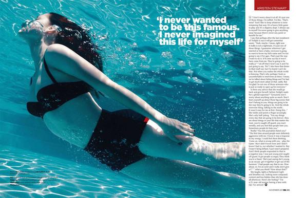 Съёмка: Кристен Стюарт для GQ. Изображение № 4.