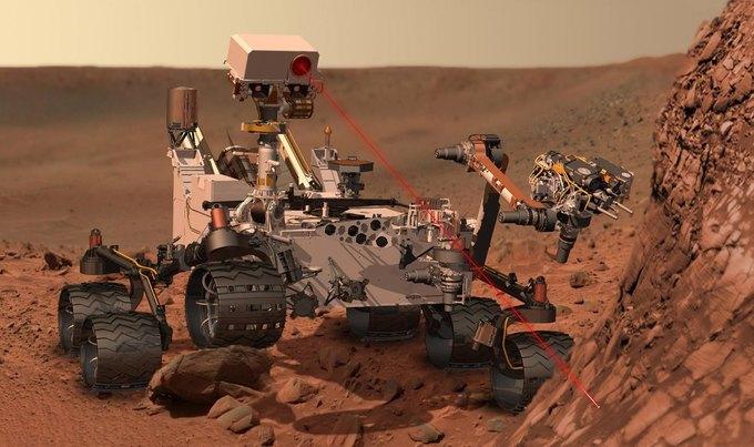На Марсе обнаружены следы озера. Изображение № 1.