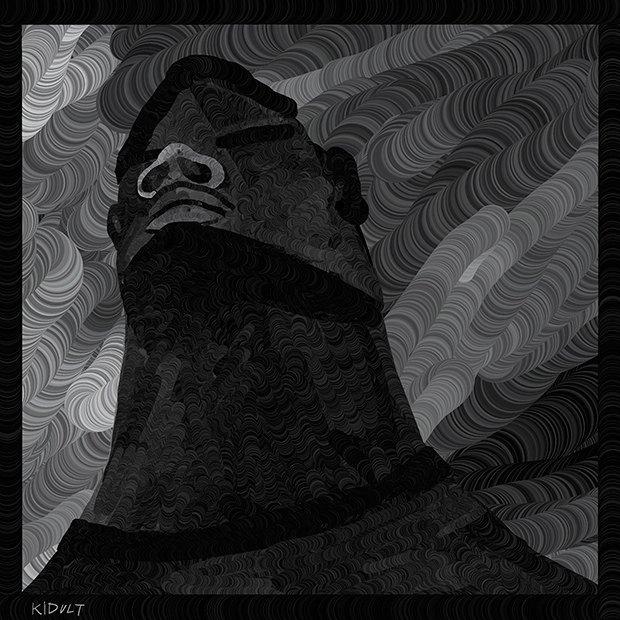 Иллюстраторы рисуют анонимных художников. Изображение № 4.