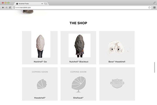 Дизайнер создал портативный кокон для отдыха на людях. Изображение № 7.