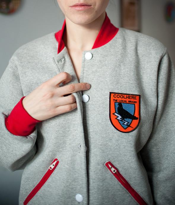 Украинская марка COOLHERE выпустила университетские куртки. Изображение № 1.