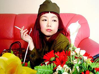 Вбамбуковом лесу. Китайский художник ЯнФудун. Изображение № 2.
