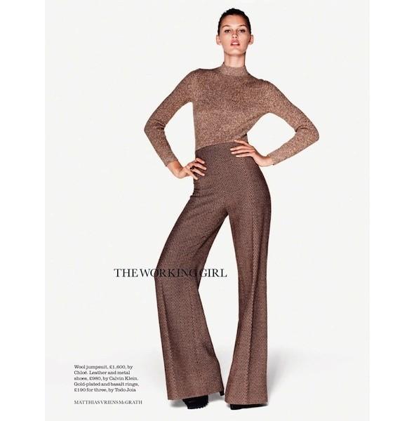 5 новых съемок: Dossier, Elle, V и Vogue. Изображение № 12.