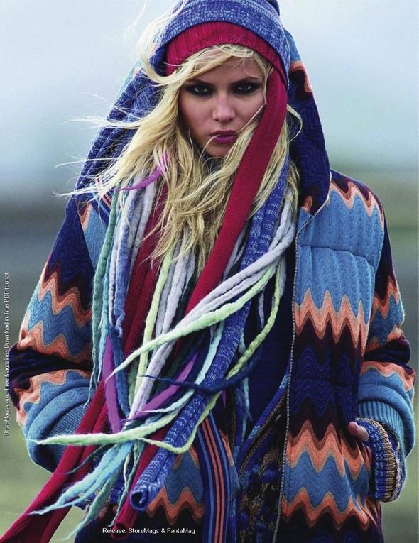 Съёмка: Наташа Поли для французского Vogue. Изображение № 9.