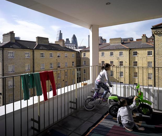 Darbishire Place (Лондон) по проекту Niall McLaughlin Architects. Изображение № 9.