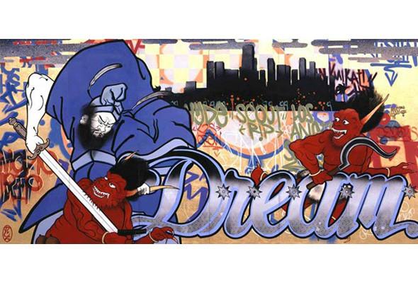 Найдено за неделю: Интерьеры Роя Лихтенштейна, неон-арт и граффити с гейшами. Изображение № 36.