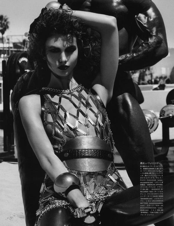 Съемки: Numero, Vogue, W и другие. Изображение №84.