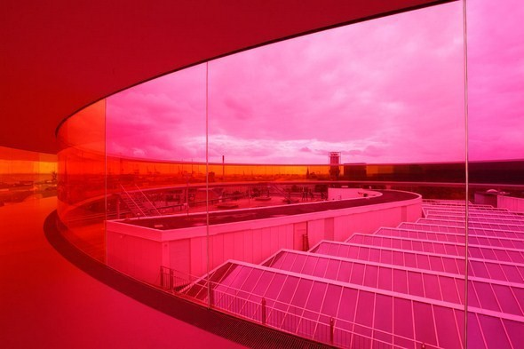 Изображение 1. Архитектурное бюро Olafur Eliasson придумало радужную панораму.. Изображение № 1.