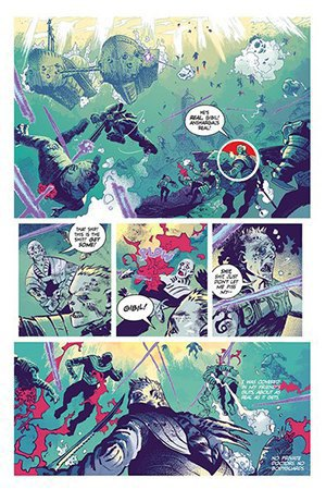 Как стать художником мирового издательства комиксов. Изображение № 14.