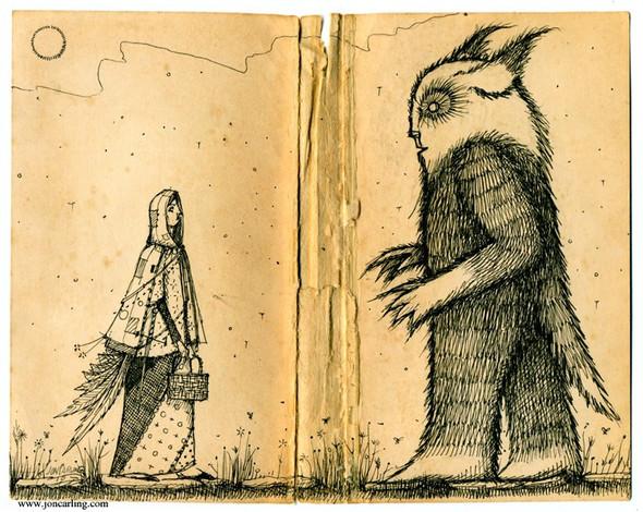 Jon Carling – мистерии в гелевой ручке. Изображение № 26.