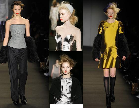 London Fashion Week. Hairlooks. Part 2. Изображение № 12.