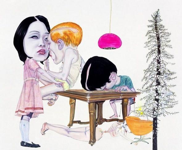 """""""Искусство расширенного сознания"""" в полотнах швейцарского художника. Изображение № 13."""