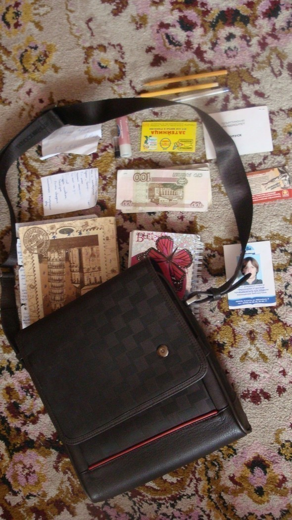 Look at Me: What's in your bag? Часть 2. Изображение № 12.
