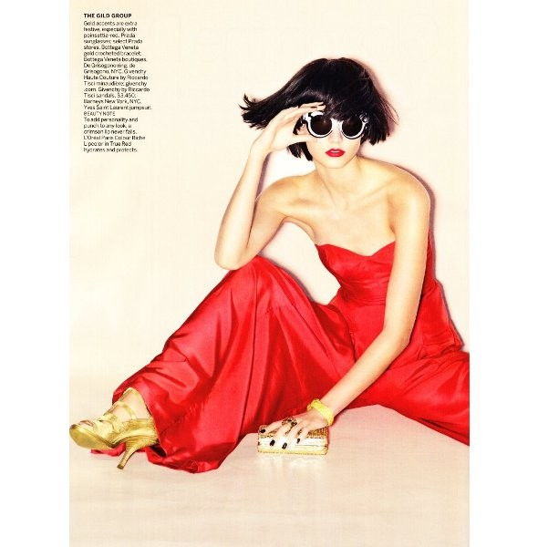 Новые съемки: Vogue, V и другие. Изображение № 5.
