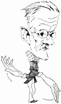 Карикатуры на писателей. Изображение № 49.