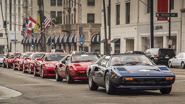 Фото: выставка суперкаров Ferrari в Беверли-Хиллз. Изображение № 7.