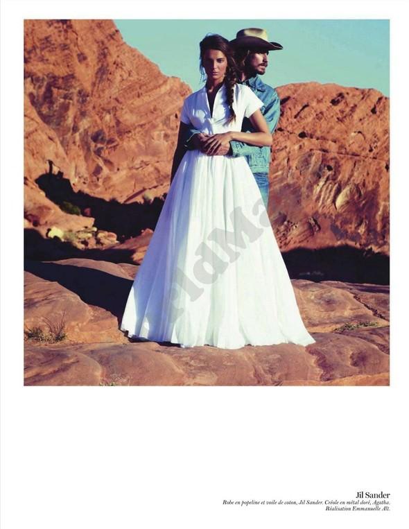 Съёмка: Дарья Вербова для французского Vogue. Изображение № 51.