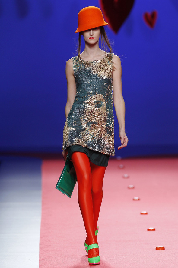 Испанцы Fall Winter 2011/2012: AGATHA RUIZ DE LA PRADA. Изображение № 27.