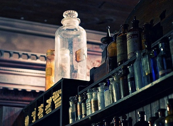 Аптека - музей в Новом Орлеане. Изображение № 12.