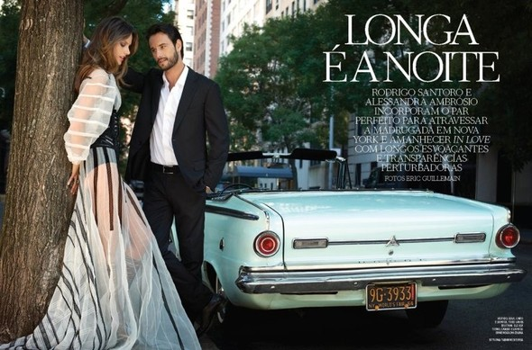Съёмка: Alessandra Ambrosio & Rodrigo Santoro 4 Vogue Brazil Dec 2011. Изображение № 1.