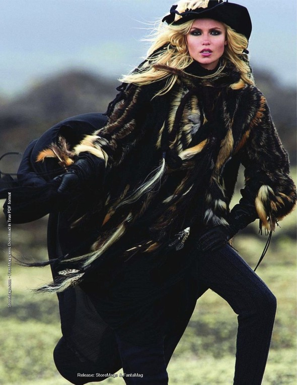 Съёмка: Наташа Поли для французского Vogue. Изображение № 5.