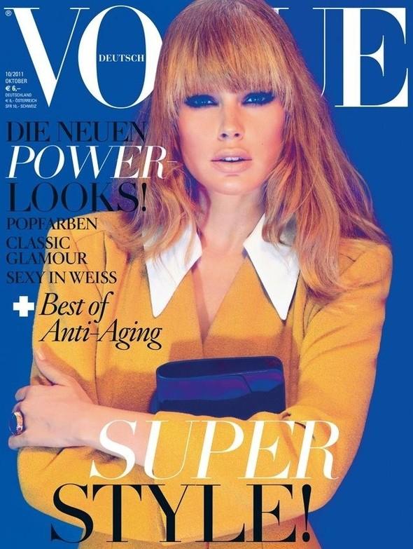 Обложки Vogue: Франция и Германия. Изображение № 2.