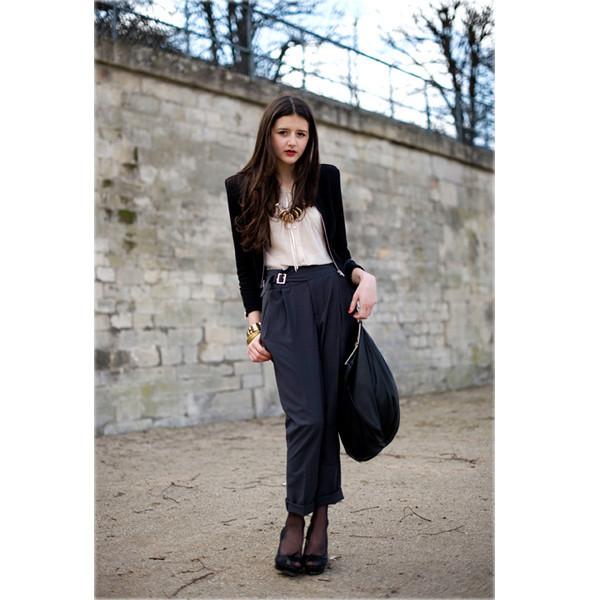 Луки с Недели моды в Париже. Изображение № 26.