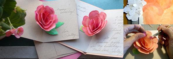 Бумажная роза. Изображение № 2.
