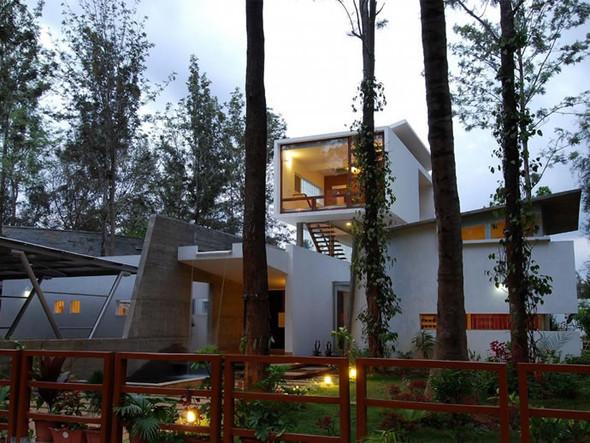 Красивые дома: Дом Павильоны в Бангалоре. Изображение № 3.