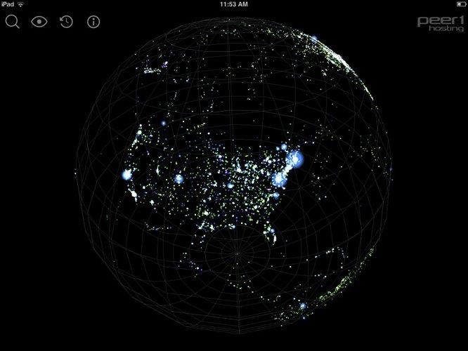 Создана интерактивная 3D-карта интернета. Изображение № 3.