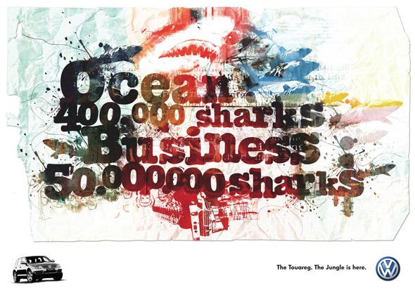 50 примеров использования типографики в рекламе. Изображение № 34.