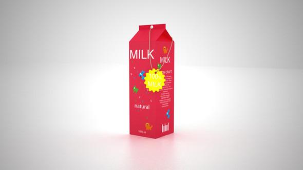 Новый дизайн упаковки молока плюс позиционирование. Изображение № 3.