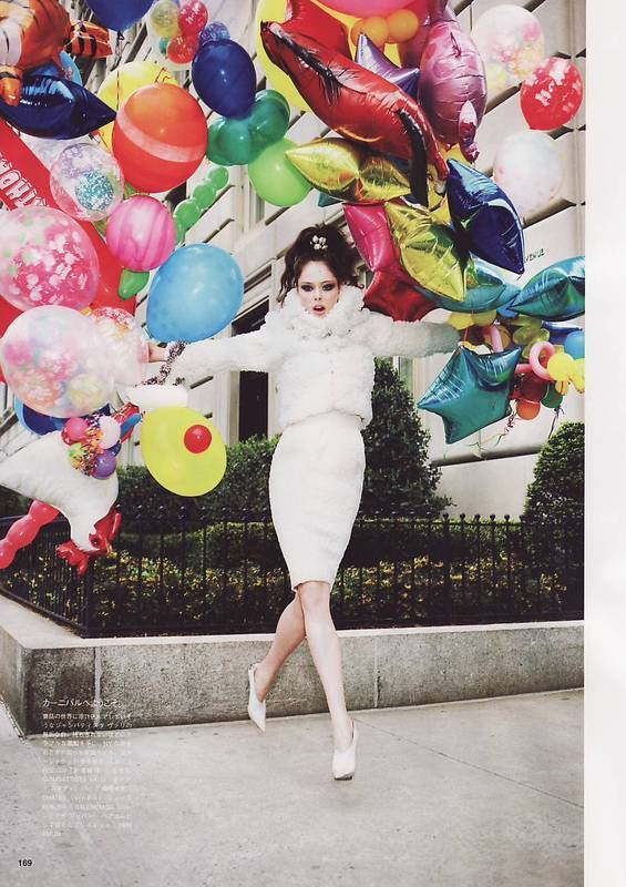 Coco Rocha. Vogue Japan(August 2008). Изображение № 5.