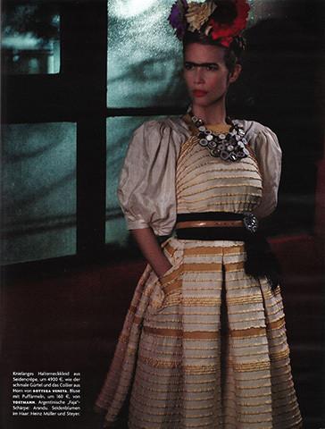 Vogue Germany, март 2010, фотограф Карл Лагерфельд . Изображение № 61.