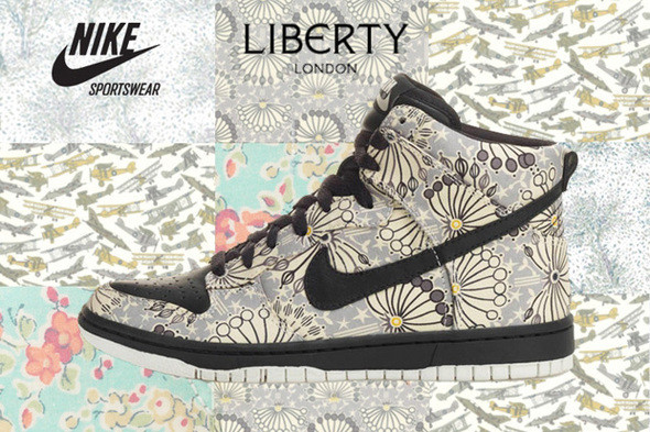 Nike + Liberty of London. Изображение № 23.