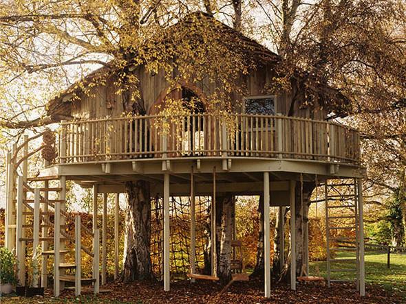 Дома надеревьях отAmazon Tree Houses. Изображение № 3.