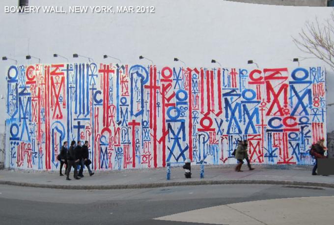 Историю граффити на одной стене восстановили с помощью Google Street View . Изображение № 5.