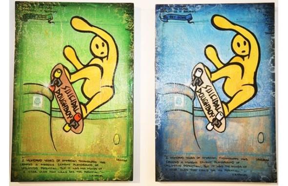 К доске: 10 художников-скейтбордистов. Изображение №30.