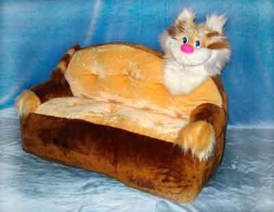 Кошки в интерьере. Изображение № 19.