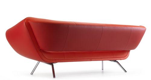 Ассиметричный диван Arabella от Leolux. Изображение № 3.