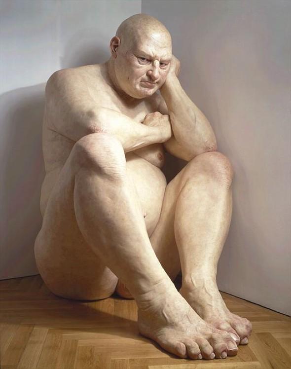 Скульптор-гиперреалист РонМуек (Ron Mueck). Изображение №6.