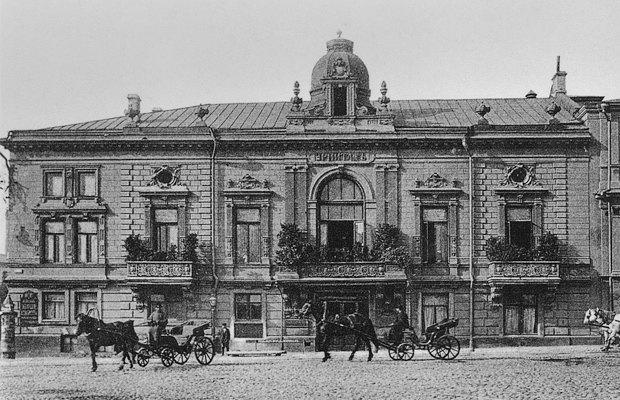 Здание ресторана «Эрмитаж» в XIX веке. Изображение № 1.
