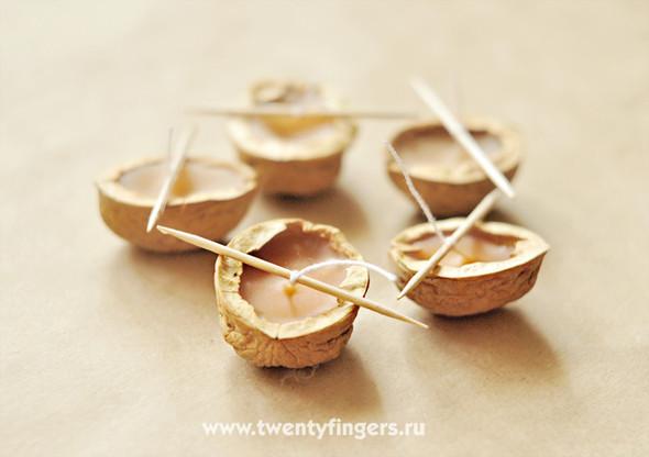 Ореховые свечи. Изображение № 6.