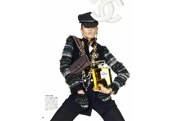 Кристал Ренн для японского Vogue. Изображение № 153.