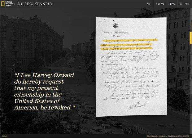 Интерактивный сайт показал историю жизни Джона Кеннеди. Изображение № 3.